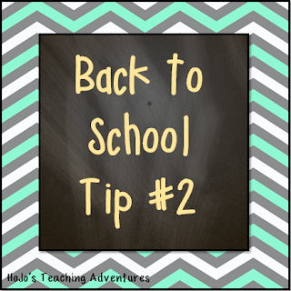 Back to School Tip #2