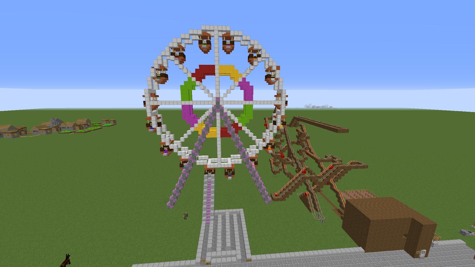 minecraft ferris wheel