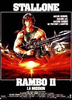 Affiche de Rambo 2 : La mission