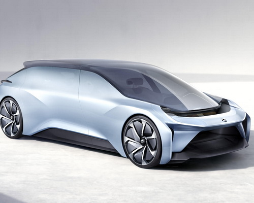 Tinuku.com NIO EVE is autonomous electric car as lounge mobile and artificial intelligence engine go production in 2020