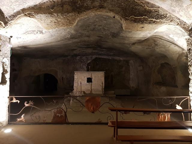 Catacombe di San Gennaro a Napoli-Parte inferiore-Basilica di Sant'Agrippino