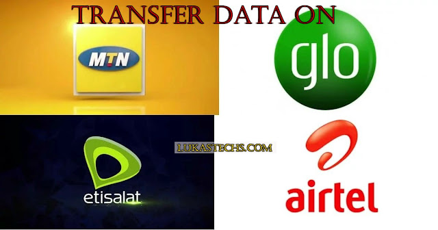 How to Transfer Data On MTN, GLO, 9Mobile, and Airtel