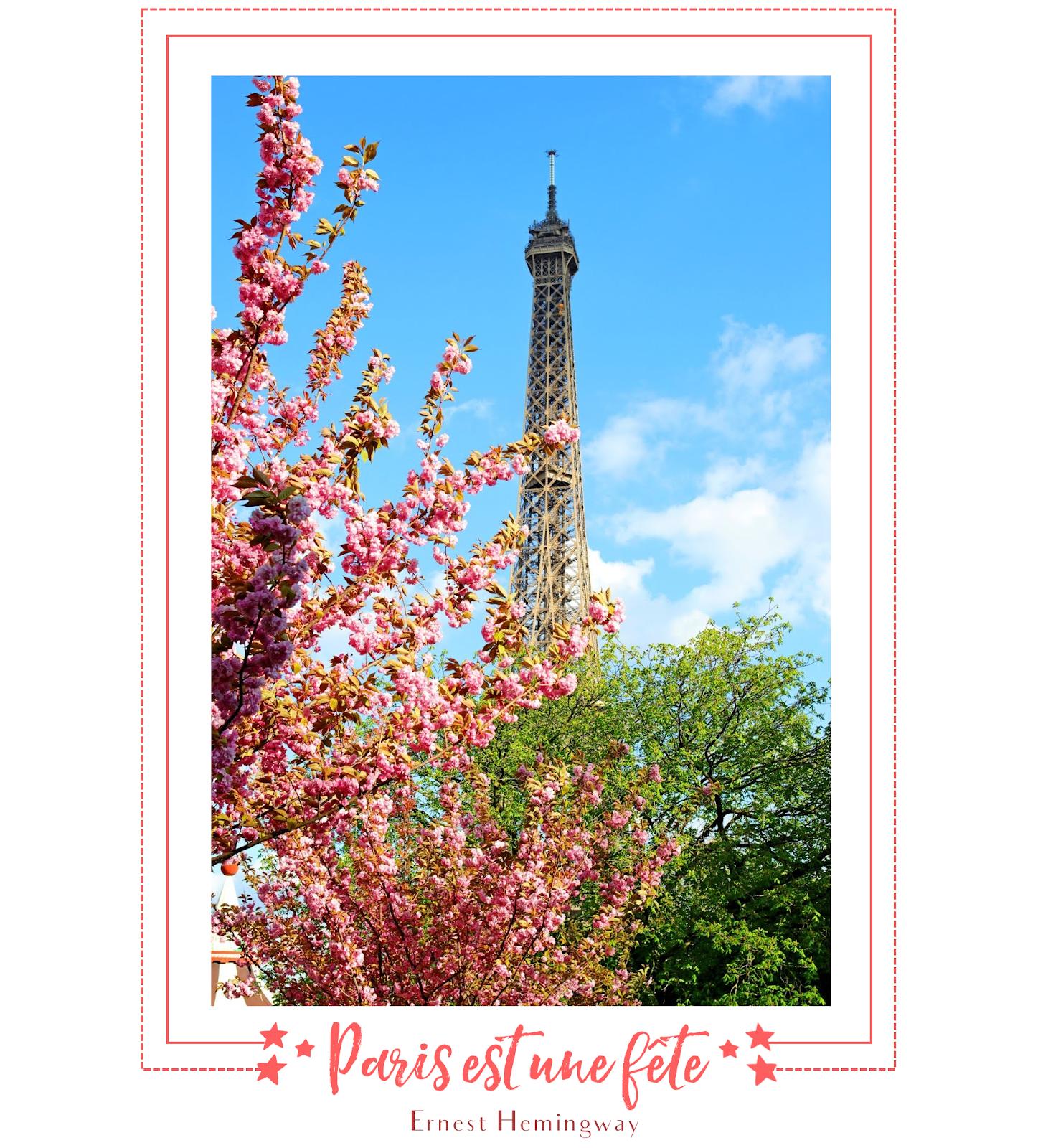 Tour Eiffel, arbre