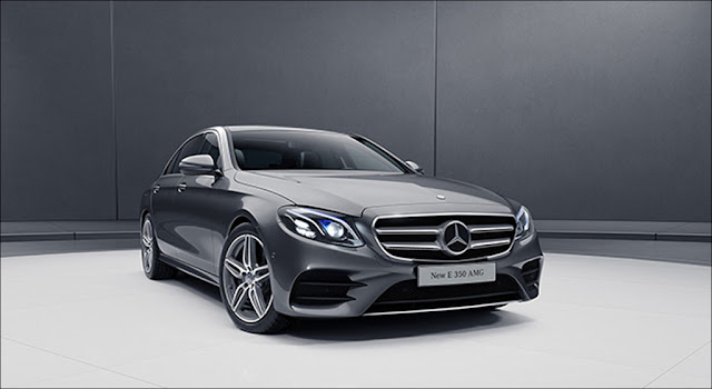 Ngoại thất Mercedes E350 AMG 2019 thiết kế thể thao mạnh mẽ