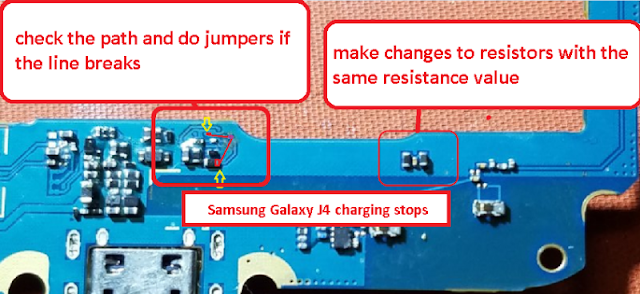 How To Fix Samsung Galaxy J4 J400 2018 Charging Stopped