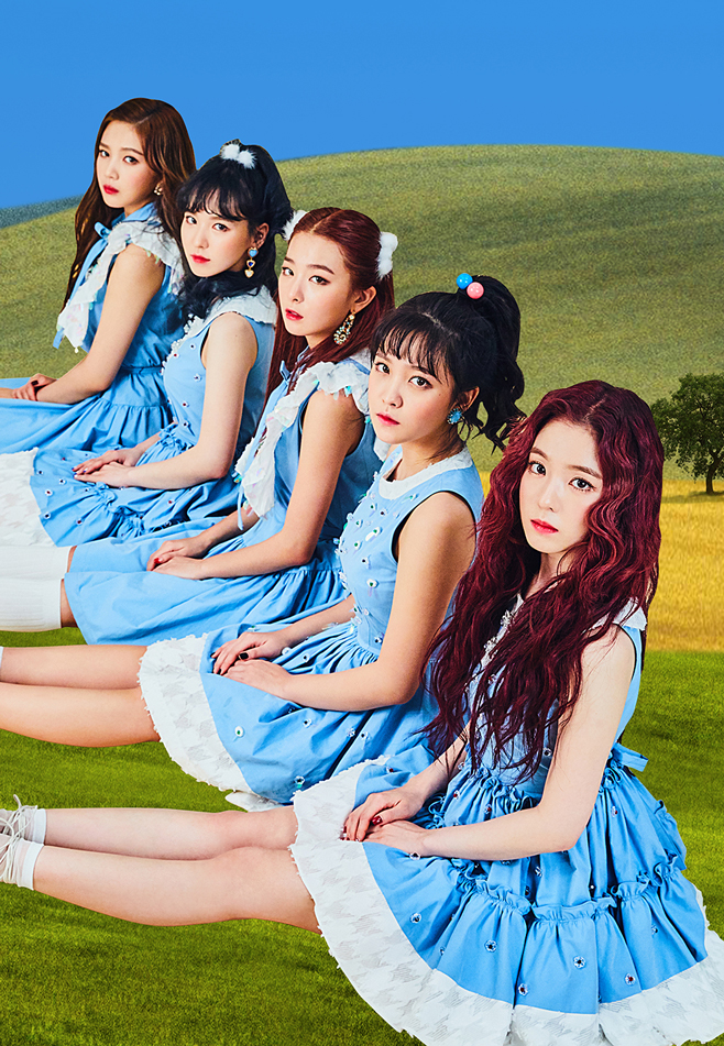 Red Velvet Korean Girl Group