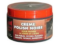 Crème polish noire de fonte