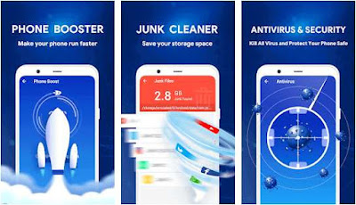 Aplikasi power cleaner pembersih sampah