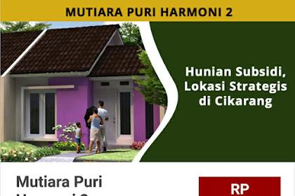 Mutiara Puri Harmoni 2,Karang Anyar,Bekasi