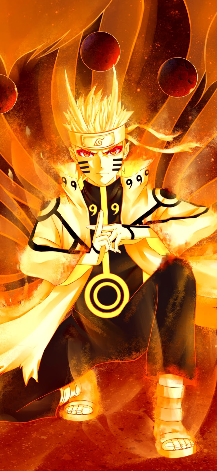 Naruto Uzumaki Mobile Wallpaper