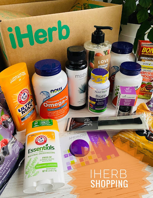 iHerb, покупки, now foods, Natrol, Purely Inspired,  Andalou, E.L.F., Arm & Hammer, shopping