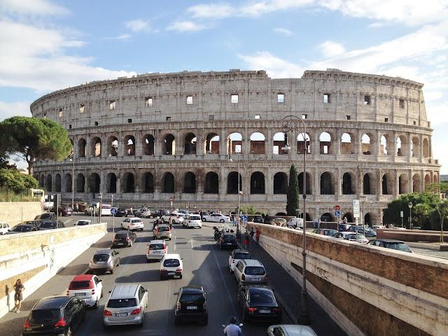 majówka, rzymskie wakacje