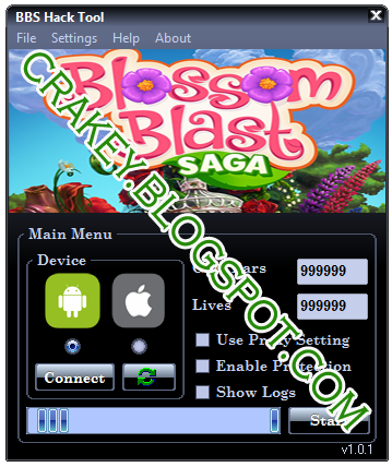 Blossom Blast Saga Hack,Mod,Bot Android and iOS 2015-2016