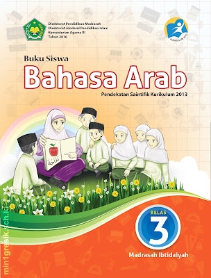 buku mata pelajaran bahasa arab kelas 3 madrasah ibtidaiyah kurikulum 2013