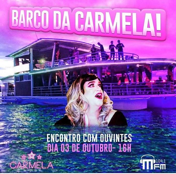 Variedade:  Depois de quase 3 mil inscrições, Barco da Carmela reúne 100 sorteados e agita Lago Paranoá
