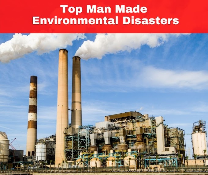 Top Man Made Environmental Disasters