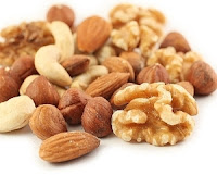 Walnuts, Almonds and Peanuts