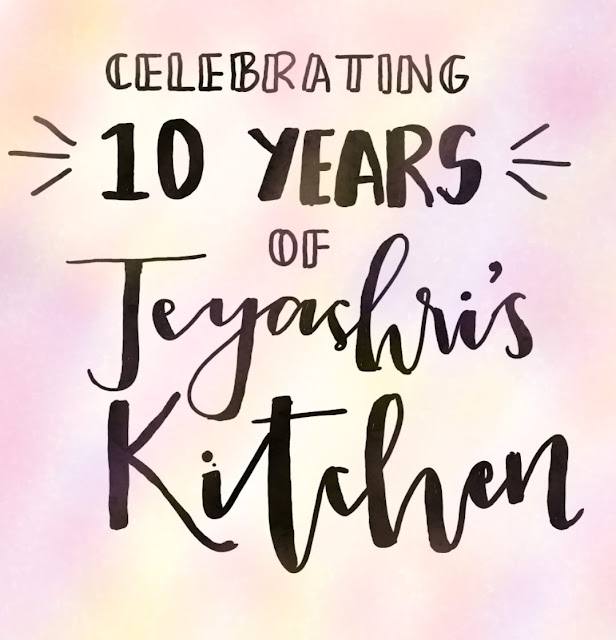 10 years of Jeyashris kitchen