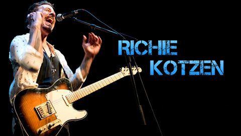 Richie Kotzen Biografía y Equipos de Guitarra