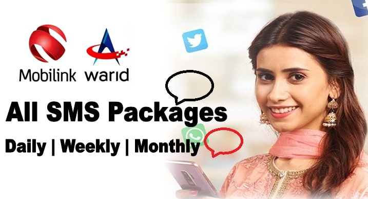 Jazz all SMS packages: daily, weekly, monthly