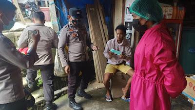 Tim Mobile Covid -19 Polres Tana Toraja Swab Warga Yang Beraktivitas Pada Tempat Umum