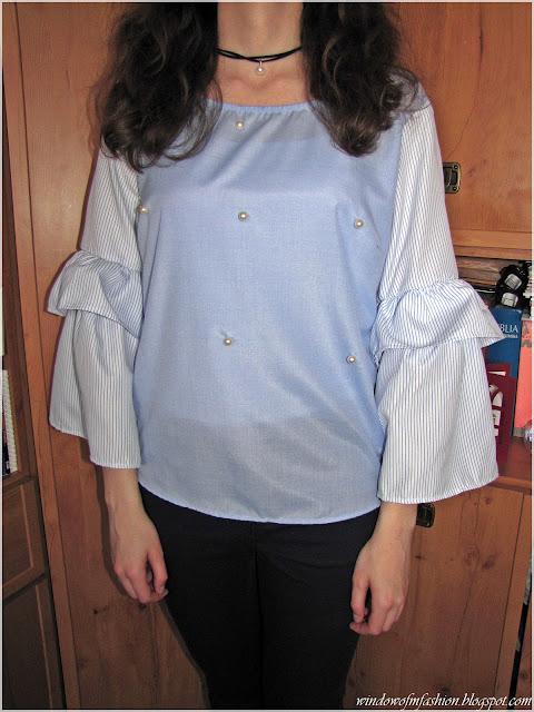 Bluzka z Zaful, Textil Market, Lidl