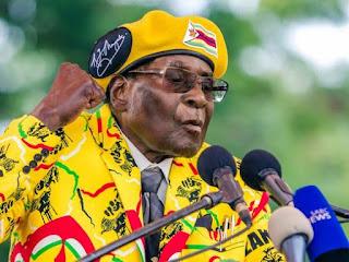 President Of Zimbabwe Robert Mugabe Makes First Public Appearance Since 'Coup' (PHOTOS)