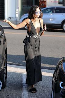 Eiza Gonzalez in Revealing Beautiful Gown Side    CEleBrity.co Exclusive 04