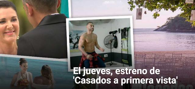 Estreno temporada 4 de casados primera vista jueves 11 enero 2018