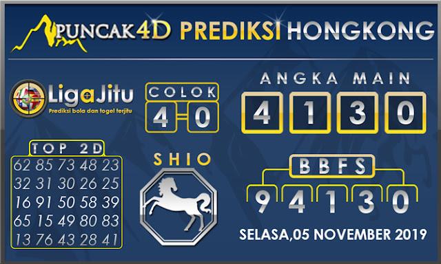 PREDIKSI TOGEL HONGKONG PUNCAK4D 05 NOVEMBER 2019