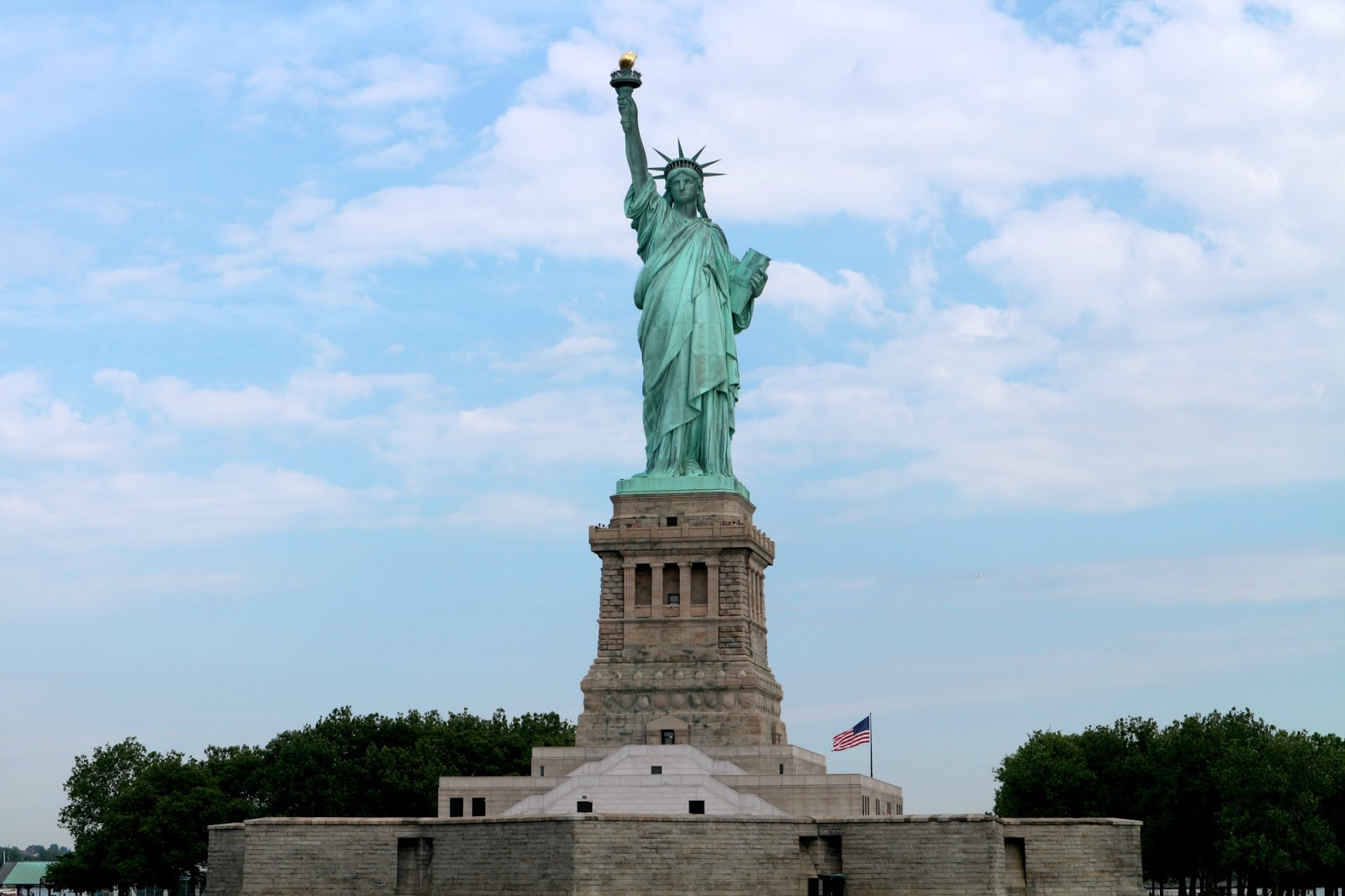 see the statue of liberty for free