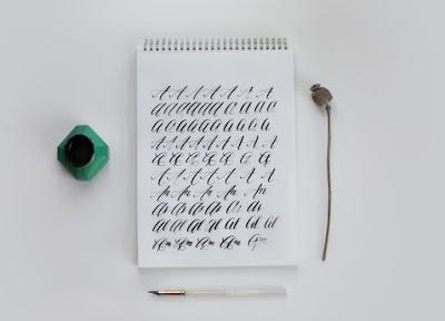 Plantillas gratis con tutoriales para practicar caligrafía a mano