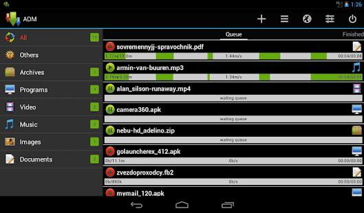 download Advanced Download Manager Pro ADM Pro لتحميل الملفات بسرعه فائقه من الانترنت اخر اصدار نسخه مدفوعه
