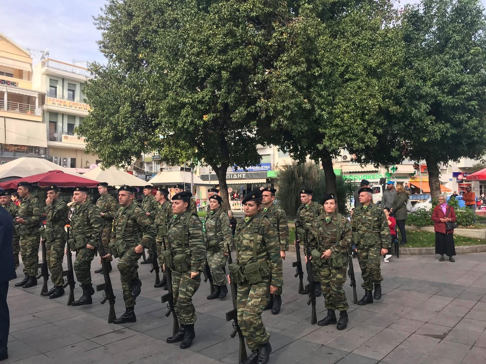 Φωτορεπορτάζ από την δοξολογία και τη κατάθεση στεφάνου για την Ημέρα των Ενόπλων Δυνάμεων