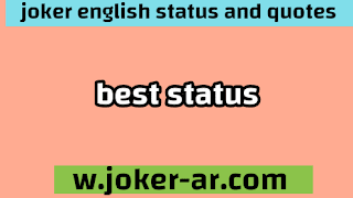 Best Status 2021 - joker english