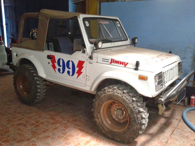 modifikasi mobil suzuki jimny sj410