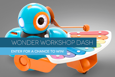 Dash & Dot Wonder Pack kids programmable robot Giveaway