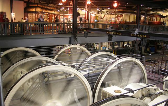 Visita ao Cable Car Museum em San Francisco