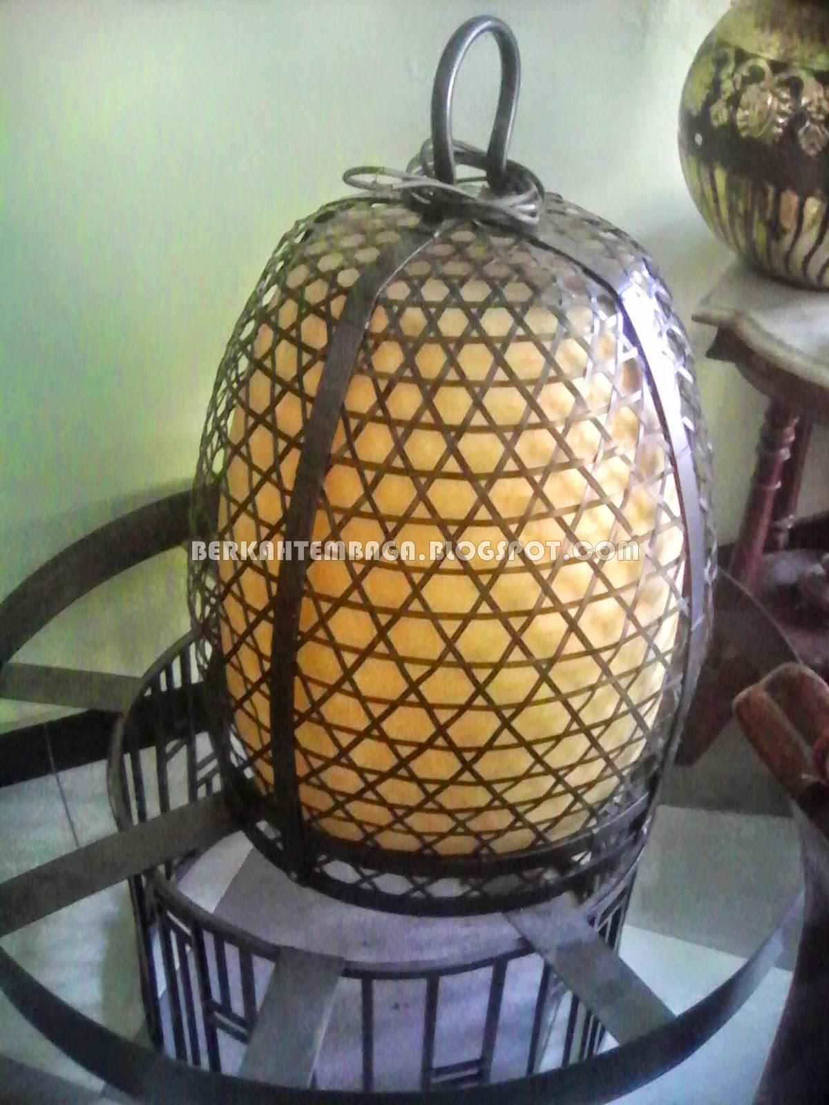 LAMPU GANTUNG TEMBAGA, LAMPU KOMBONG AYAM
