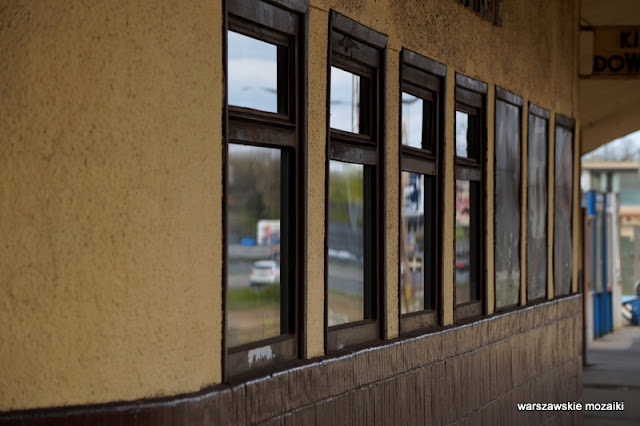 Wawer stacja kolejowa modernism modernizm Kazimierz Centnerszwer kolej wiata poczekalnia linia otwocka architektura architecture
