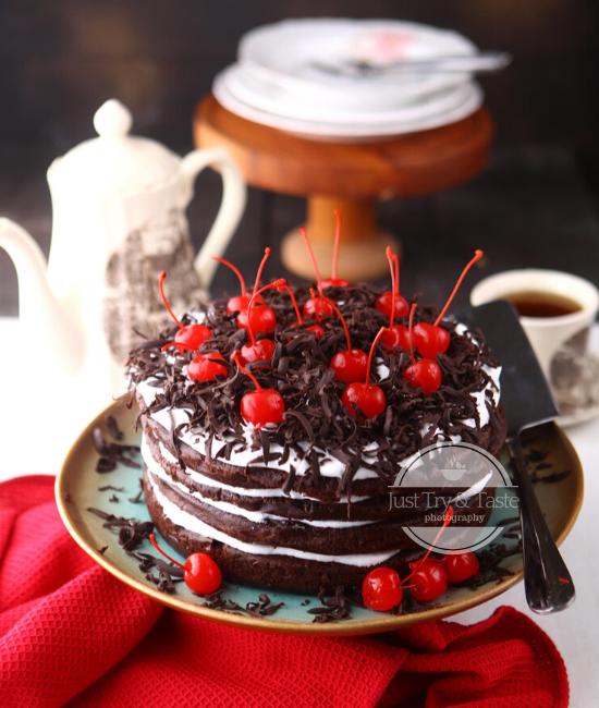 Resep Moist Black Forest Cake