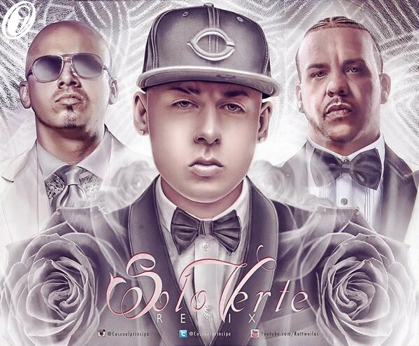 Cosculluela Ft. Wisin Y Divino - Solo Verte (Official Remix)