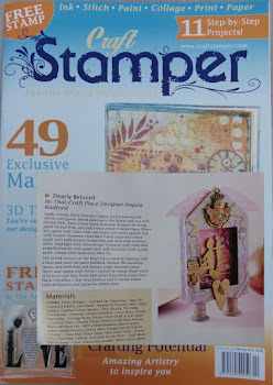 Featured in Craft Stamper