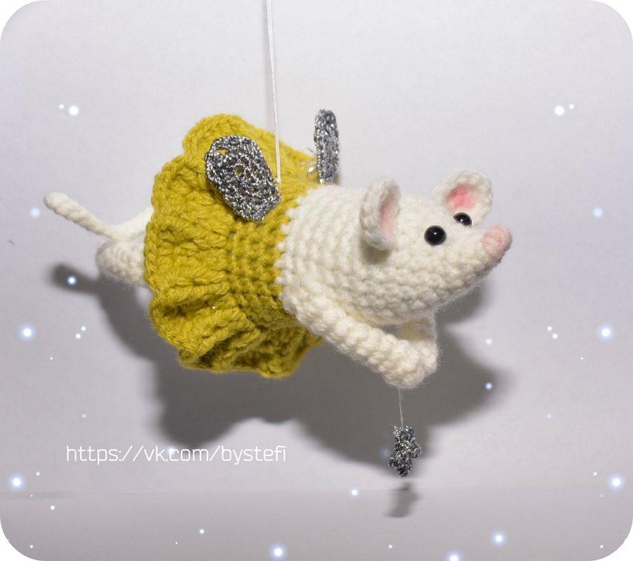 мышка фея амигуруми схемы амигуруми