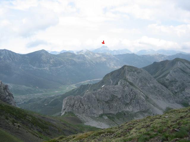 Rutas Montaña Asturias: Vista del pico Torres