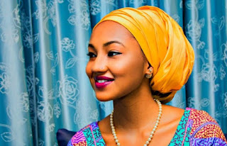 Zahra Buhari gets customized LV boxes from Fiance