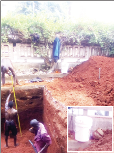 Human Buried Discovered At Onitsha mansion