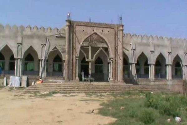 पाकिस्तान से अतांकियो को मिले पैसे से हुआ हरियाणा में मस्जिद का निर्माण