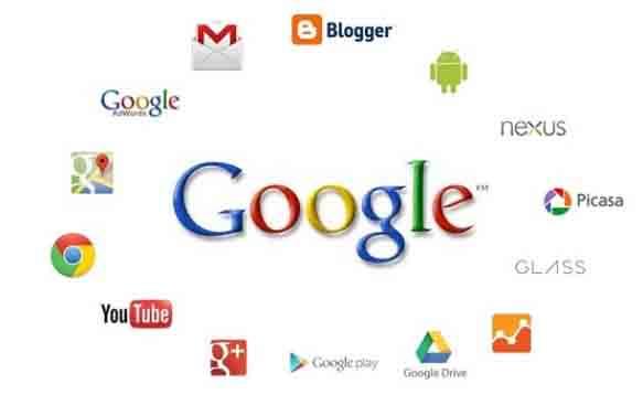 شعارات خدمات جوجل Google Products logos