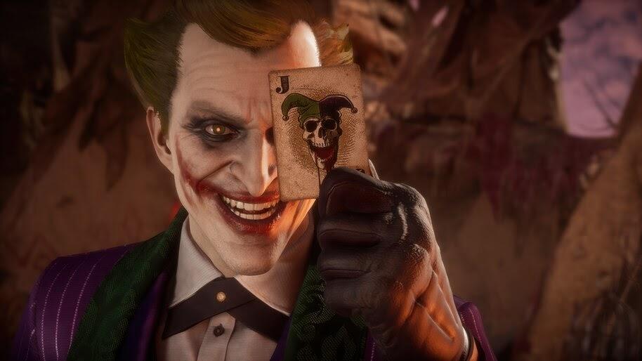 Joker, Card, MK11, 4K, #7.1429